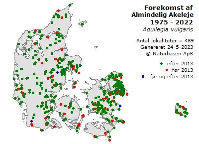 Klik for flere oplysninger om Akeleje (Aquilegia vulgaris)